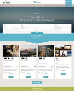 allou travel website